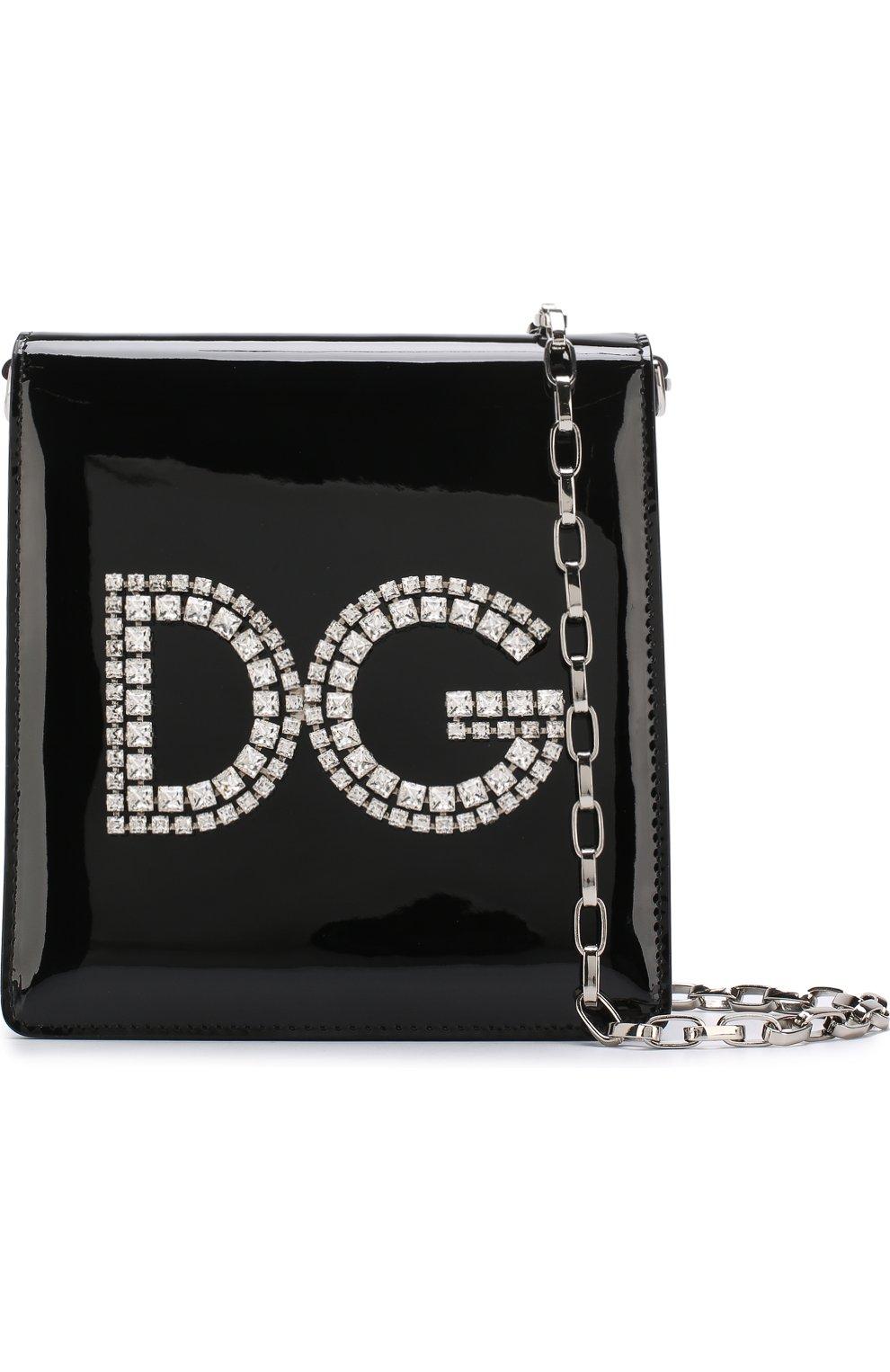 7c9b9ae5a0e5 Женская сумка dg girls DOLCE & GABBANA черная цвета — купить за ...