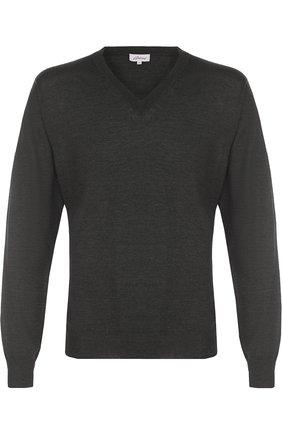 Пуловер из смеси шерсти и кашемира с шелком | Фото №1