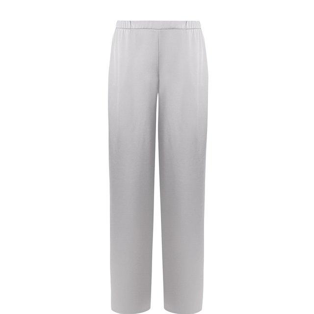 Однотонные широкие брюки St. John