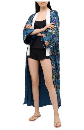 Женские хлопковые шорты LA PERLA черного цвета, арт. 0021056 | Фото 2