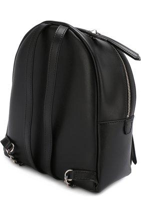 Рюкзак из кожи с жемчужной отделкой | Фото №3