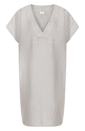 Сорочка из смеси хлопка и льна | Фото №1