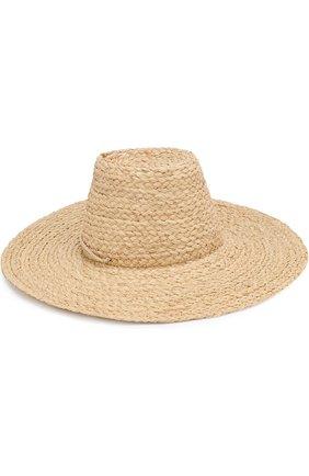 Соломенная шляпа Artesano бежевого цвета | Фото №2