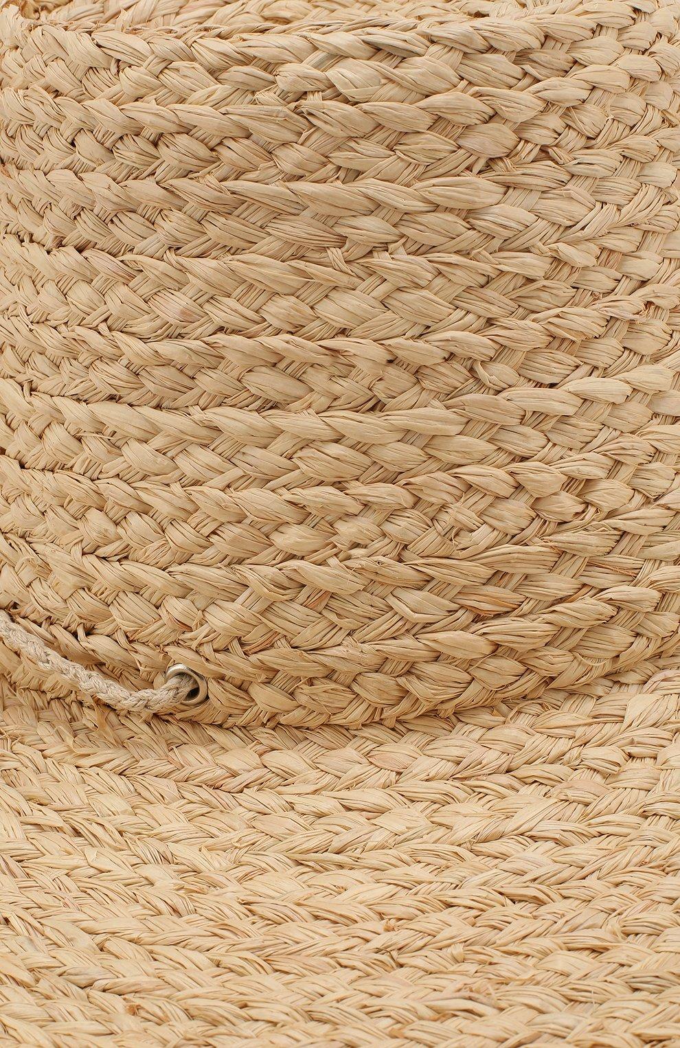 Соломенная шляпа Artesano бежевого цвета | Фото №3