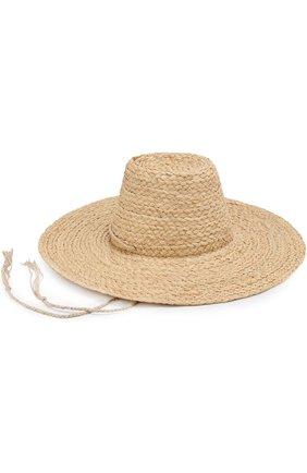 Соломенная шляпа Artesano бежевого цвета | Фото №4