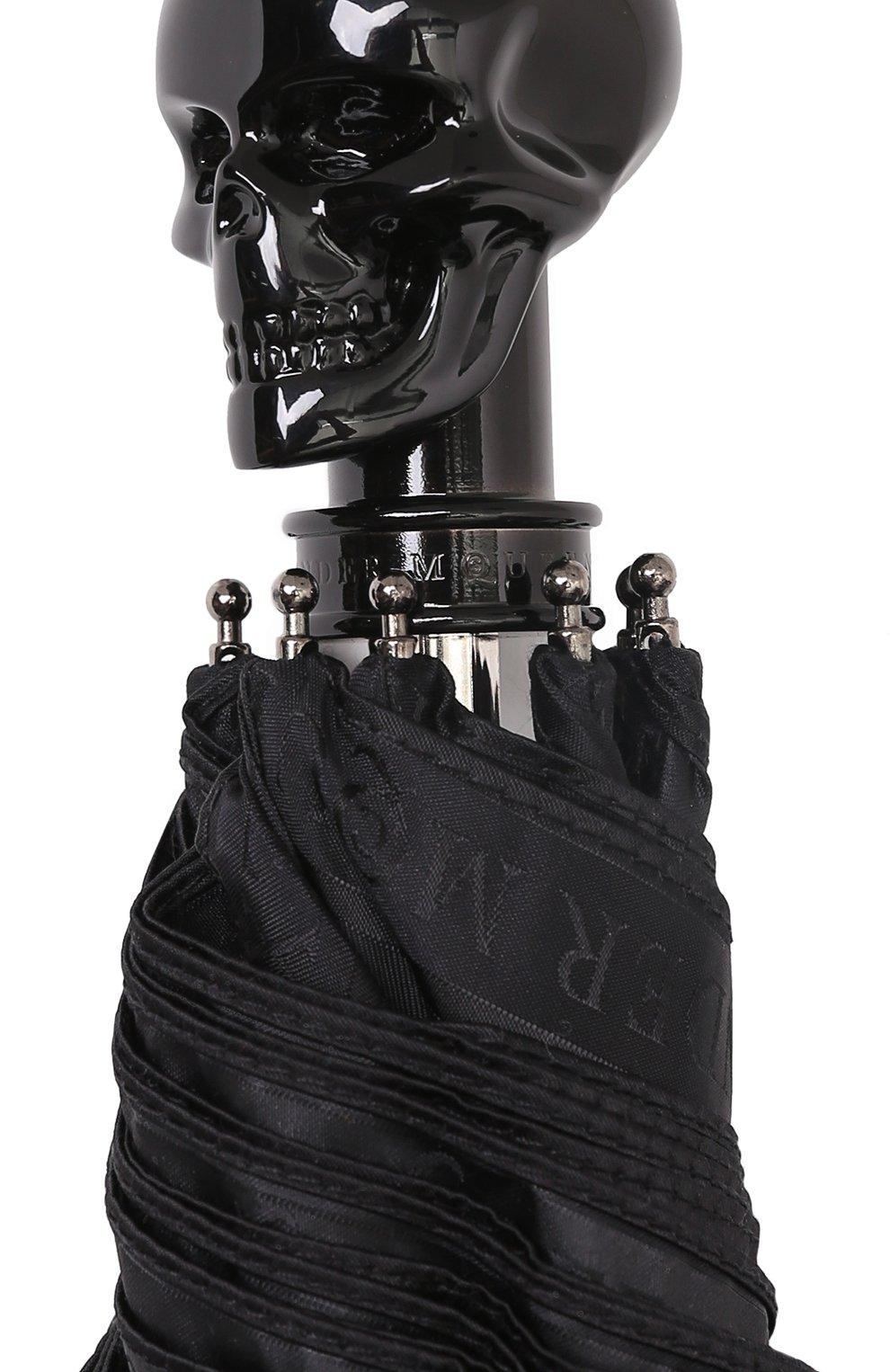 Складной зонт с фигурной ручкой | Фото №5