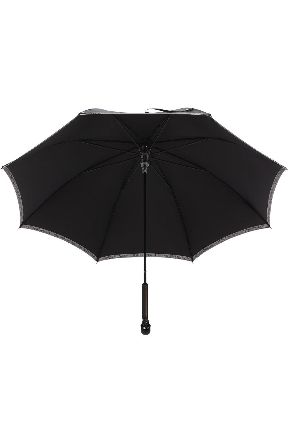 Зонт-трость с фигурной ручкой | Фото №3