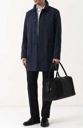 Мужская текстильная дорожная сумка Z ZEGNA черного цвета, арт. C1345P-DPT | Фото 2