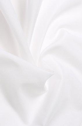 Мужской хлопковый платок с логотипом бренда ERMENEGILDO ZEGNA белого цвета, арт. Z3I18/38B | Фото 2