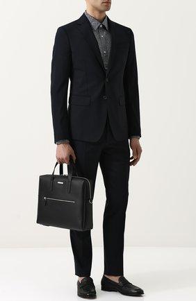Кожаная сумка для ноутбука | Фото №2