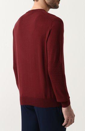 Джемпер тонкой вязки из смеси хлопка и кашемира | Фото №4
