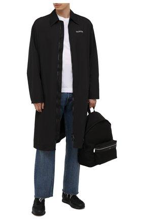 Мужские комбинированные кроссовки eric PREMIATA черного цвета, арт. ERIC/VAR2813 | Фото 2