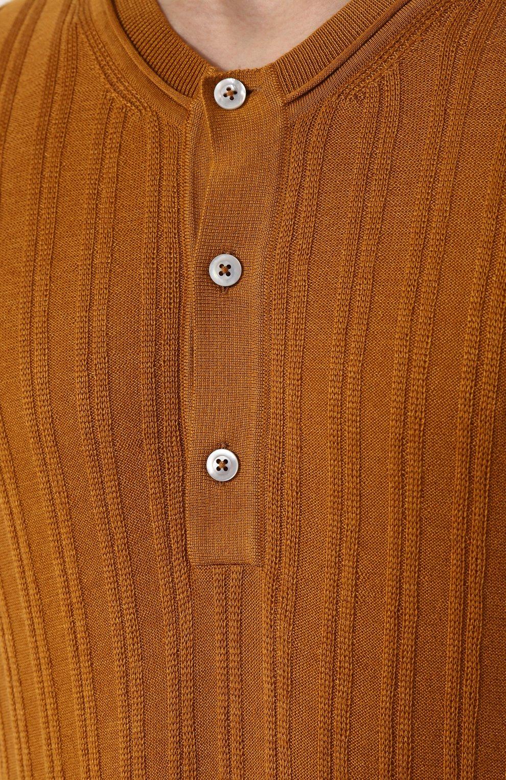 Джемпер из смеси кашемира и шелка   Фото №5