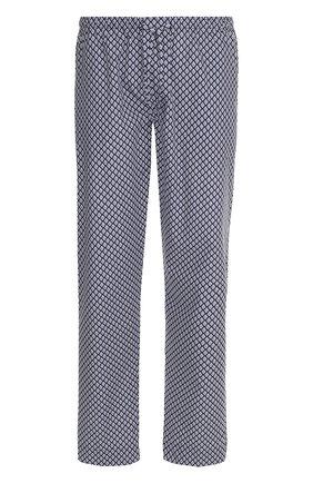 Хлопковые домашние брюки с принтом | Фото №1