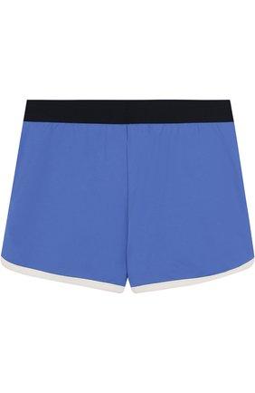 Плавки-шорты с логотипом бренда | Фото №2