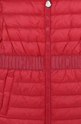 Стеганое пуховое пальто   Фото №3