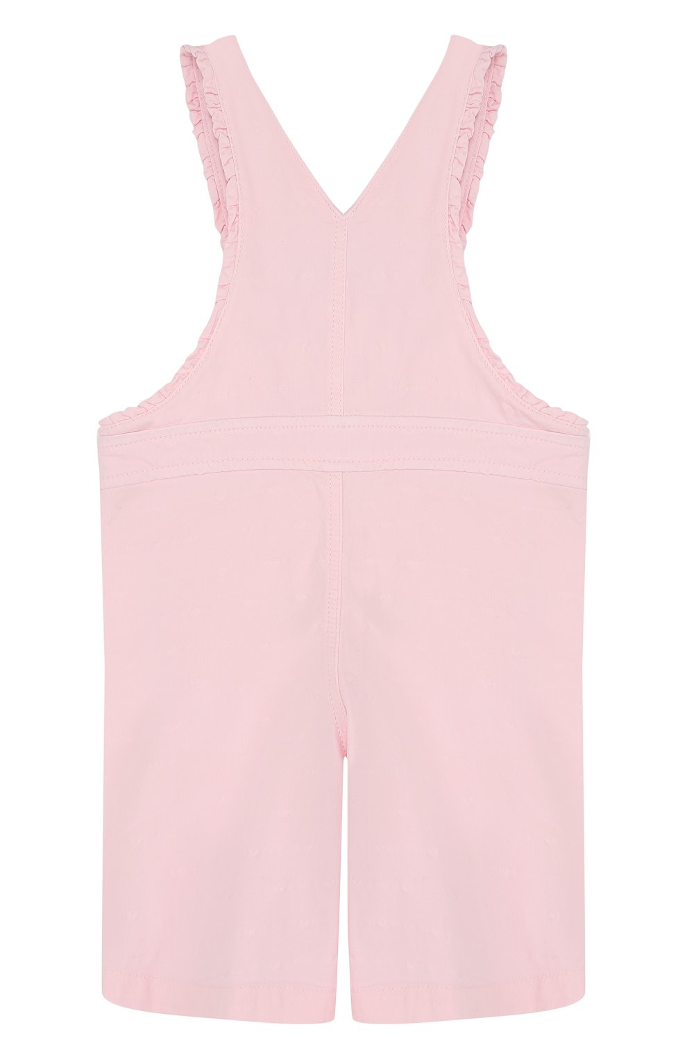 Детский хлопковый комбинезон TARTINE ET CHOCOLAT розового цвета, арт. TL21071/2A-3A | Фото 2