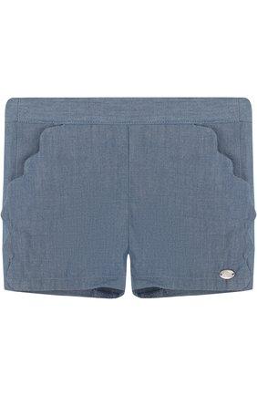 Хлопковые шорты с фестонами | Фото №1