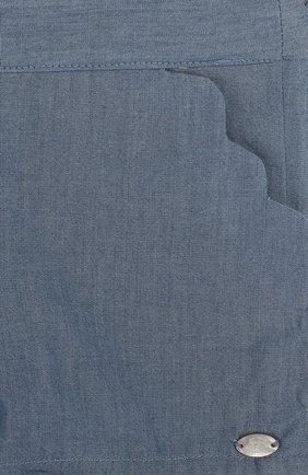 Детские хлопковые шорты с фестонами TARTINE ET CHOCOLAT голубого цвета, арт. TL26011/1M-18M | Фото 3