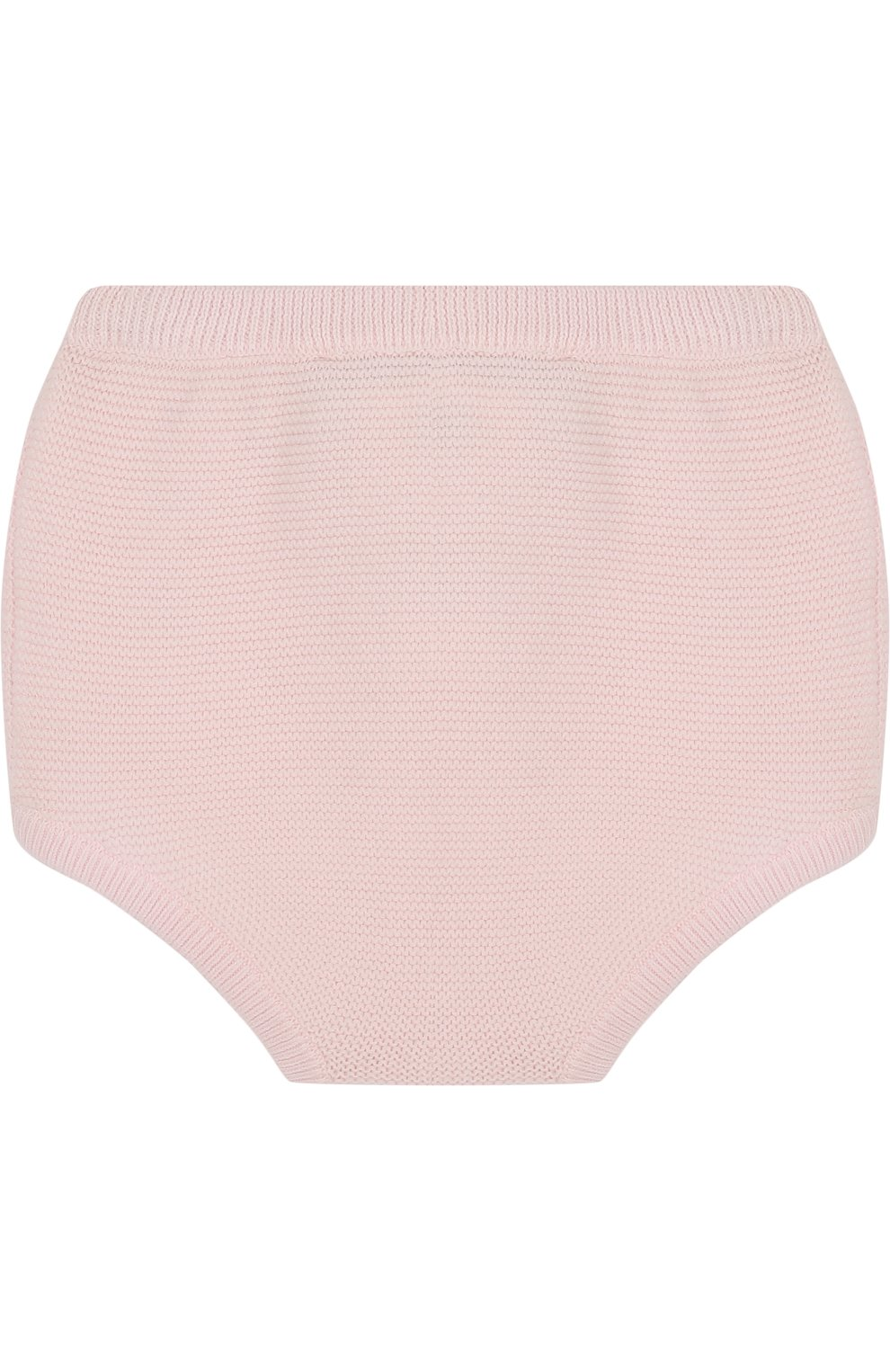 Детские вязаные шорты из хлопка TARTINE ET CHOCOLAT светло-розового цвета, арт. TL26031 | Фото 2