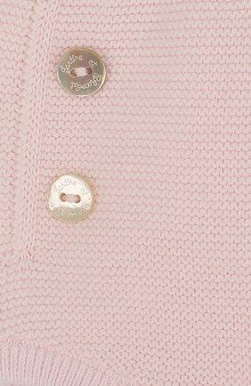 Детские вязаные шорты из хлопка TARTINE ET CHOCOLAT светло-розового цвета, арт. TL26031 | Фото 3