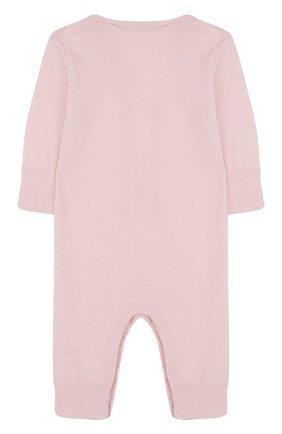 Детский комбинезон из кашемира TARTINE ET CHOCOLAT светло-розового цвета, арт. TH32021 | Фото 2