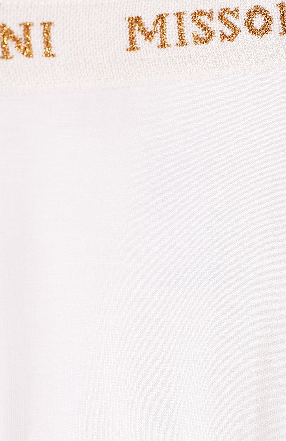 Леггинсы с логотипом бренда на поясе | Фото №3