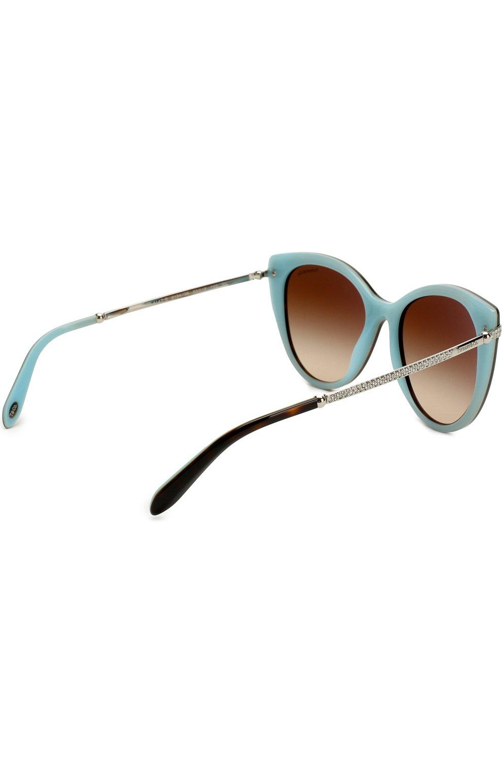 Женские солнцезащитные очки TIFFANY & CO. разноцветного цвета, арт. 4143B-81343B | Фото 4