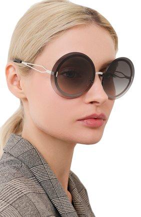 Женские солнцезащитные очки VICTORIA BECKHAM серого цвета, арт. S128 C02   Фото 2
