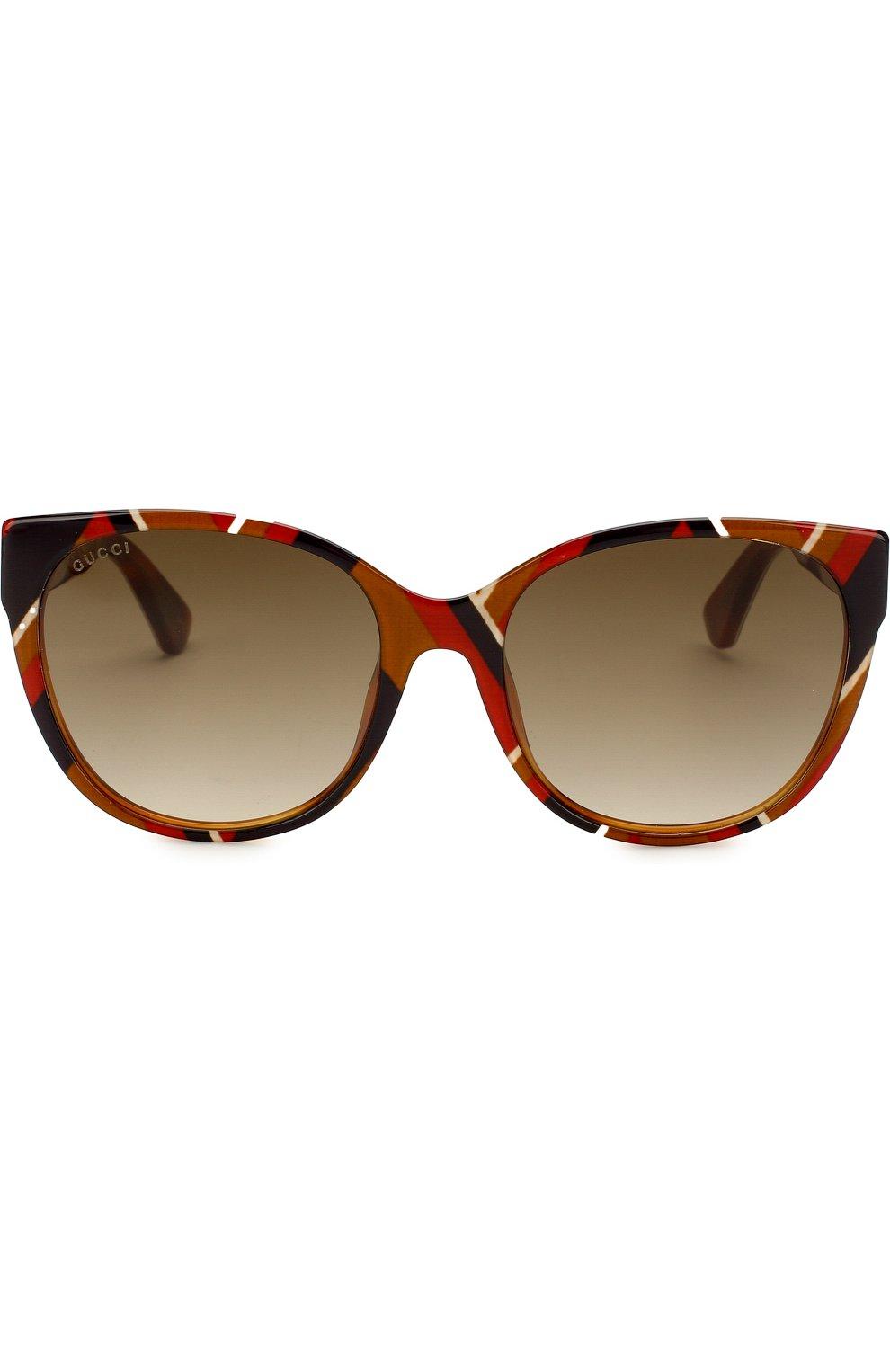 Солнцезащитные очки Gucci разноцветные | Фото №3