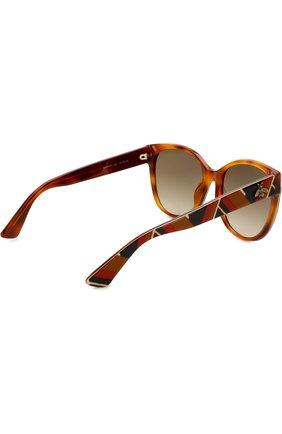 Солнцезащитные очки Gucci разноцветные | Фото №4