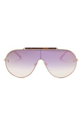 Женские солнцезащитные очки STELLA MCCARTNEY золотого цвета, арт. SC0056 004 | Фото 3