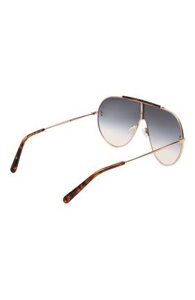 Женские солнцезащитные очки STELLA MCCARTNEY золотого цвета, арт. SC0056 004 | Фото 4