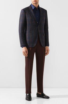 Мужские кожаные пенни-лоферы  ERMENEGILDO ZEGNA черного цвета, арт. A3014X-AFR | Фото 2