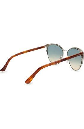 Женские солнцезащитные очки GUCCI разноцветного цвета, арт. GG0198SK 004 | Фото 4