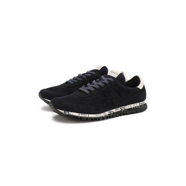 Замшевые кроссовки Sean Premiata — Замшевые кроссовки Sean