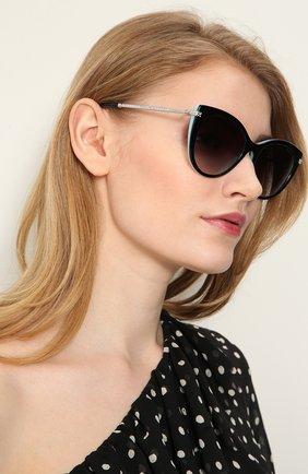 Солнцезащитные очки Tiffany & Co. разноцветные | Фото №2