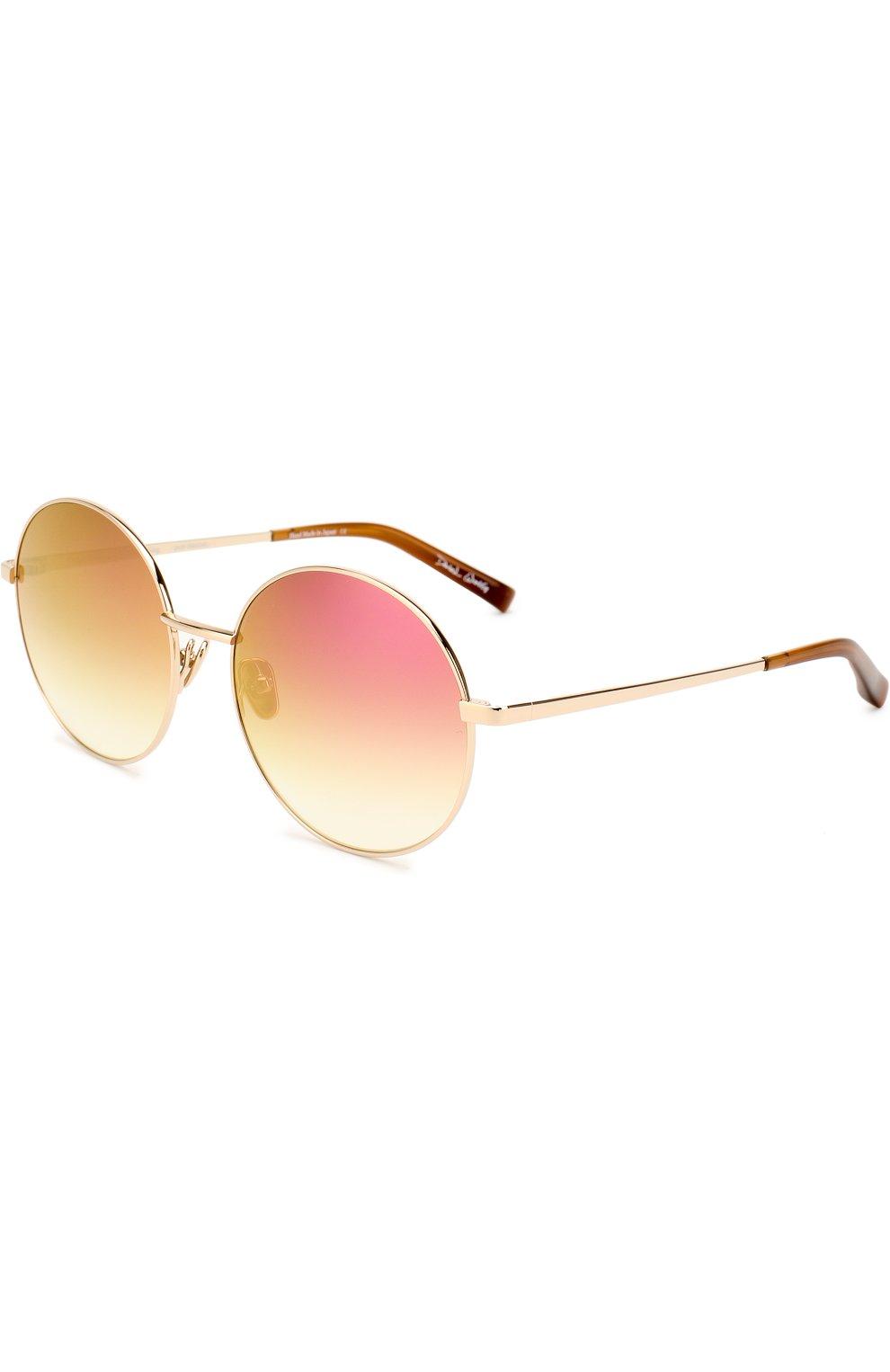 Женские солнцезащитные очки FRENCY&MERCURY золотого цвета, арт. P0L0/SLG-PM | Фото 1