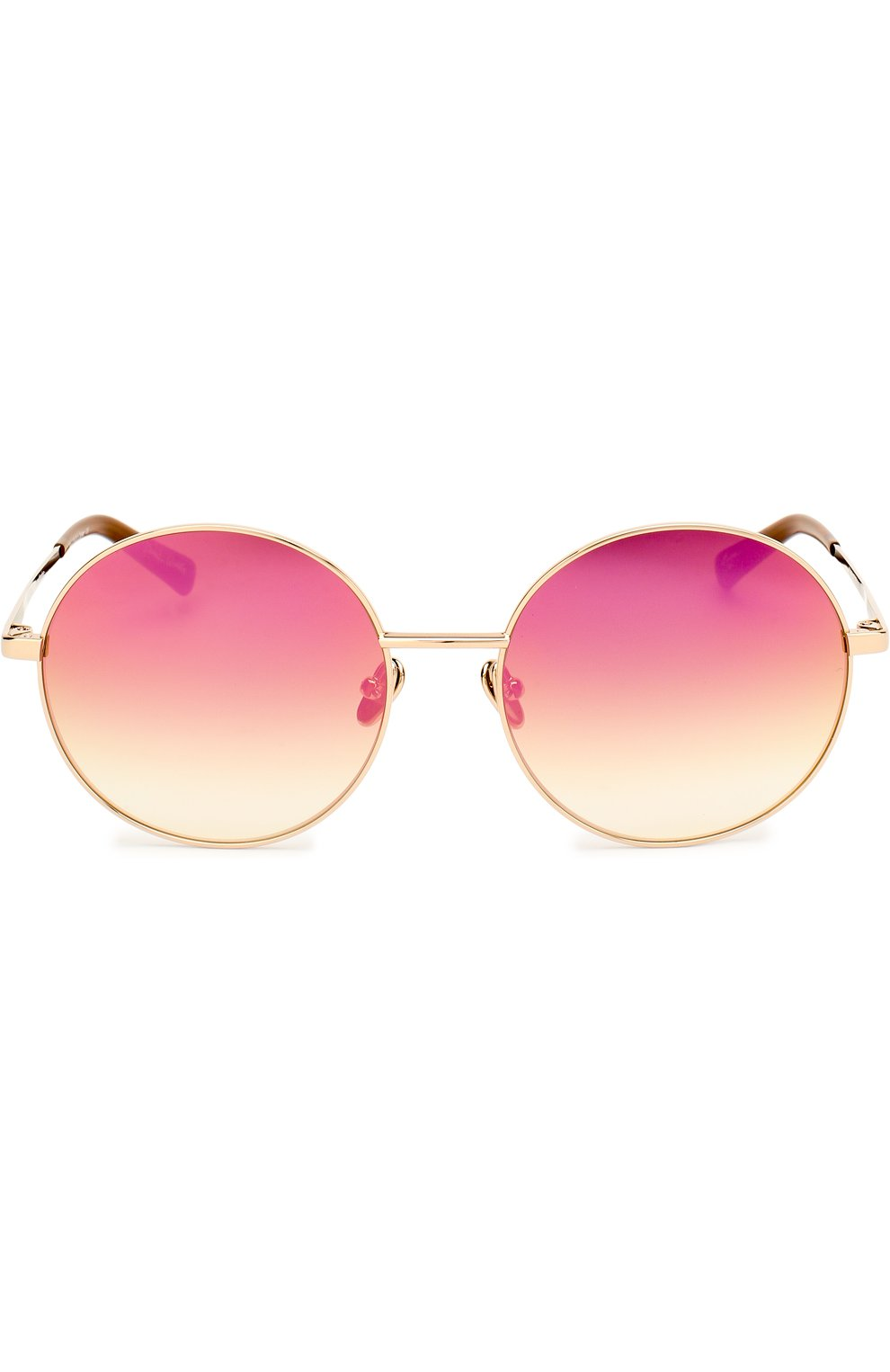 Женские солнцезащитные очки FRENCY&MERCURY золотого цвета, арт. P0L0/SLG-PM | Фото 3