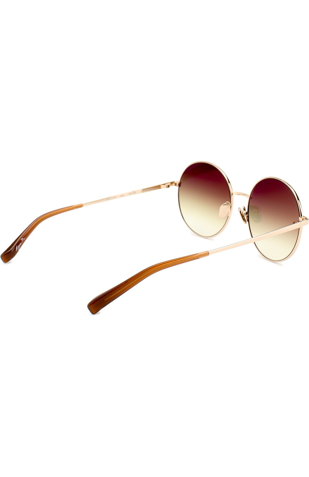 Женские солнцезащитные очки FRENCY&MERCURY золотого цвета, арт. P0L0/SLG-PM | Фото 4