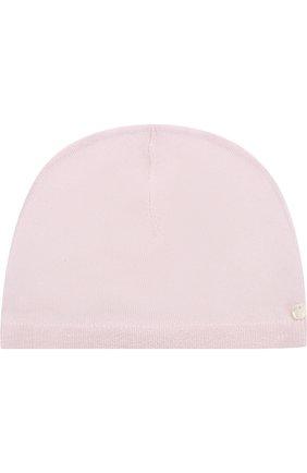 Кашемировая шапка Tartine Et Chocolat светло-розового цвета   Фото №1
