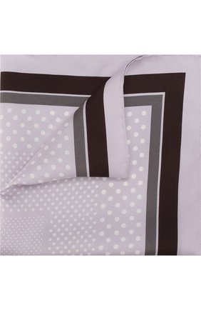 Мужской шелковый платок с узором TOM FORD сиреневого цвета, арт. 3TF101/TF312   Фото 1