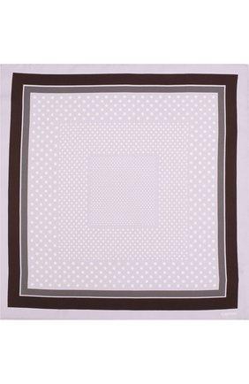 Мужской шелковый платок с узором TOM FORD сиреневого цвета, арт. 3TF101/TF312   Фото 3