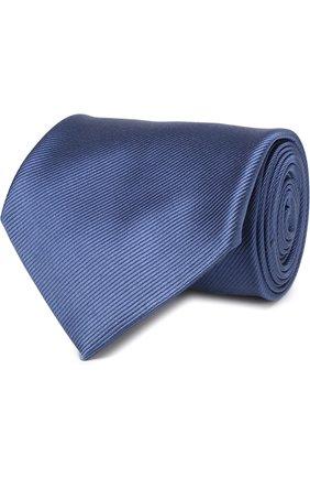 Мужской шелковый галстук TOM FORD голубого цвета, арт. 3TF08/XTF | Фото 1