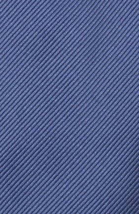 Мужской шелковый галстук TOM FORD голубого цвета, арт. 3TF08/XTF | Фото 3