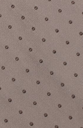 Мужской шелковый галстук TOM FORD бежевого цвета, арт. 3TF43/XTF | Фото 3