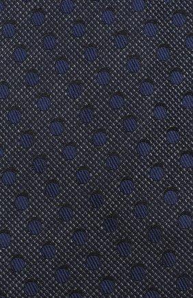 Мужской шелковый галстук TOM FORD синего цвета, арт. 3TF48/XTF | Фото 3
