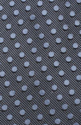 Мужской шелковый галстук TOM FORD голубого цвета, арт. 3TF48/XTF | Фото 3