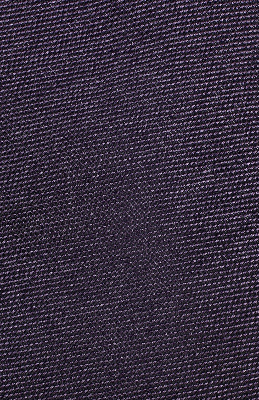 Мужской шелковый галстук TOM FORD фиолетового цвета, арт. 3TF60/XTF | Фото 3