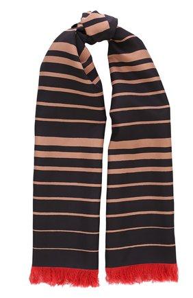 Мужской шелковый шарф с бахромой BOTTEGA VENETA разноцветного цвета, арт. 509619/4V028 | Фото 1
